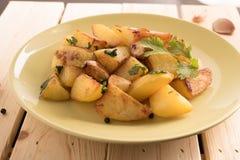 Φρέσκα τηγανητά πατατών Στοκ Εικόνα