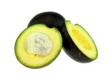 Φρέσκα φρούτα αβοκάντο που απομονώνονται Στοκ Εικόνες