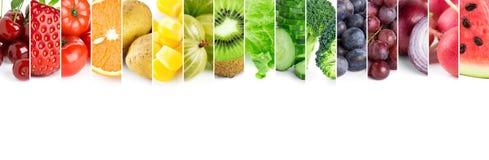 Φρέσκα φρούτα και λαχανικά χρώματος Στοκ φωτογραφία με δικαίωμα ελεύθερης χρήσης