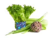 Υγιή πράσινα τρόφιμα Στοκ Εικόνες