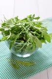 Φρέσκα φύλλα arugula Στοκ εικόνες με δικαίωμα ελεύθερης χρήσης