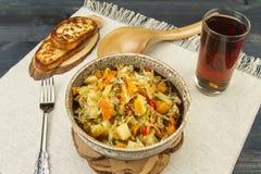 Φρέσκα χορτοφάγα λαχανικά Στοκ Εικόνες