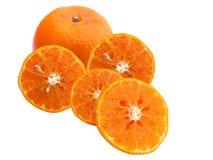 Φρέσκα juicy πορτοκάλια Στοκ Φωτογραφία