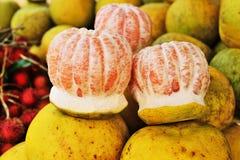 Φρέσκα pomelo φρούτα Στοκ Εικόνα