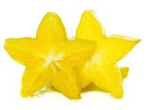 Φρέσκα starfruits Στοκ Εικόνα