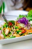 Φρέσκες γαρίδες κατσαρού λάχανου Στοκ φωτογραφίες με δικαίωμα ελεύθερης χρήσης