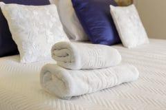 Φρέσκες και καθαρές πετσέτες Στοκ Φωτογραφίες