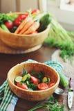 φρέσκες ντομάτες σαλάτα&sigma Στοκ φωτογραφία με δικαίωμα ελεύθερης χρήσης