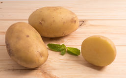φρέσκες πατάτες νόστιμες Στοκ φωτογραφίες με δικαίωμα ελεύθερης χρήσης