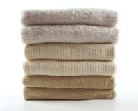 φρέσκες πετσέτες Στοκ Φωτογραφία