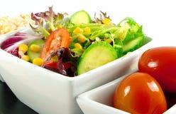 φρέσκες σαλάτες Στοκ Εικόνες
