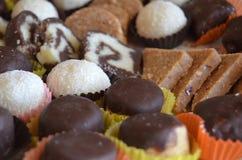 Φρέσκες σπιτικές τρούφες Στοκ φωτογραφία με δικαίωμα ελεύθερης χρήσης