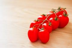 φρέσκες υγιείς κόκκινες ντομάτες τροφίμων Στοκ Εικόνες