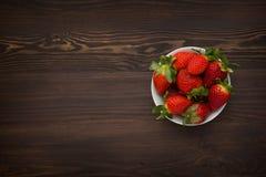 φρέσκες φράουλες Στοκ φωτογραφία με δικαίωμα ελεύθερης χρήσης