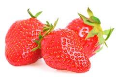 φρέσκες φράουλες Στοκ Φωτογραφία