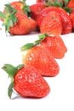 φρέσκες φράουλες Στοκ Εικόνες