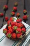 φρέσκες φράουλες Στοκ φωτογραφίες με δικαίωμα ελεύθερης χρήσης