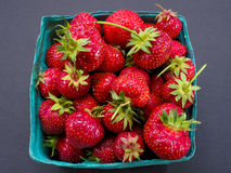 φρέσκες φράουλες Στοκ εικόνα με δικαίωμα ελεύθερης χρήσης