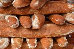 φρέσκες φραντζόλες ψωμι&omicr στοκ φωτογραφία