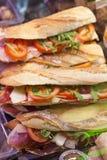 Φρέσκια λήψη-aways-λήψη baguette στοκ φωτογραφία