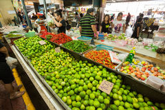 Φρέσκια αγορά, πόλη Phuket Στοκ Φωτογραφία