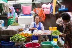 Φρέσκια αγορά, πόλη Phuket Στοκ Εικόνα