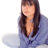 φρέσκια γυναίκα πορτρέτο&upsi Στοκ φωτογραφίες με δικαίωμα ελεύθερης χρήσης