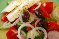 φρέσκια ελληνική σαλάτα Στοκ Φωτογραφίες