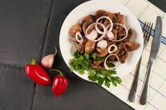 φρέσκια θερινή σαλάτα με τα λαχανικά Στοκ φωτογραφίες με δικαίωμα ελεύθερης χρήσης