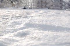 Φρέσκια κάλυψη χιονιού στοκ εικόνες