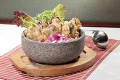 Φρέσκια και νόστιμη κουζίνα θαλασσινών Στοκ φωτογραφία με δικαίωμα ελεύθερης χρήσης