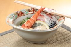 Φρέσκια και νόστιμη κουζίνα θαλασσινών Στοκ Εικόνα