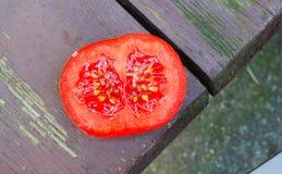 φρέσκια κόκκινη ντομάτα Στοκ Φωτογραφία
