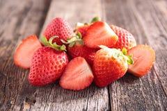 Φρέσκια κόκκινη φράουλα στοκ φωτογραφία