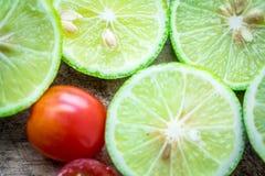 Φρέσκια ντομάτα λεμονιών Στοκ φωτογραφία με δικαίωμα ελεύθερης χρήσης