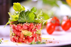 φρέσκια ντομάτα σαλάτας Στοκ φωτογραφία με δικαίωμα ελεύθερης χρήσης