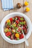 φρέσκια ντομάτα σαλάτας Στοκ Φωτογραφίες