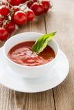 φρέσκια ντομάτα σούπας Στοκ φωτογραφία με δικαίωμα ελεύθερης χρήσης