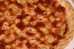 Φρέσκια πίτα ρεβεντιού Στοκ φωτογραφίες με δικαίωμα ελεύθερης χρήσης