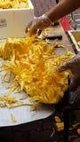 Φρέσκια περικοπή Jackfruit Στοκ Φωτογραφίες