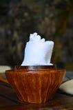 Φρέσκια πετσέτα για το χέρι σας πριν από τα τρόφιμα Στοκ φωτογραφία με δικαίωμα ελεύθερης χρήσης