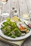 φρέσκια πράσινη σαλάτα Στοκ φωτογραφία με δικαίωμα ελεύθερης χρήσης