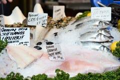 φρέσκια πώληση ψαριών Στοκ Εικόνα