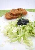 φρέσκια σαλάτα αγγουριών Στοκ Εικόνες
