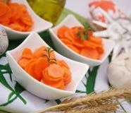 φρέσκια σαλάτα καρότων Στοκ εικόνα με δικαίωμα ελεύθερης χρήσης