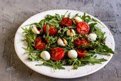 φρέσκια σαλάτα arugula Στοκ εικόνα με δικαίωμα ελεύθερης χρήσης
