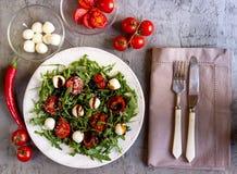 φρέσκια σαλάτα arugula Στοκ Εικόνα