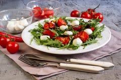 φρέσκια σαλάτα arugula Στοκ φωτογραφίες με δικαίωμα ελεύθερης χρήσης