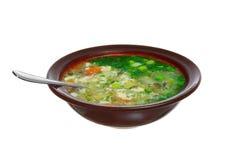φρέσκια σούπα Στοκ εικόνα με δικαίωμα ελεύθερης χρήσης