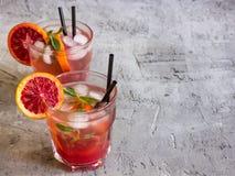 Φρέσκια σπιτική λεμονάδα Στοκ Εικόνες